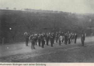 MV Büdingen kurz nach der Gründung